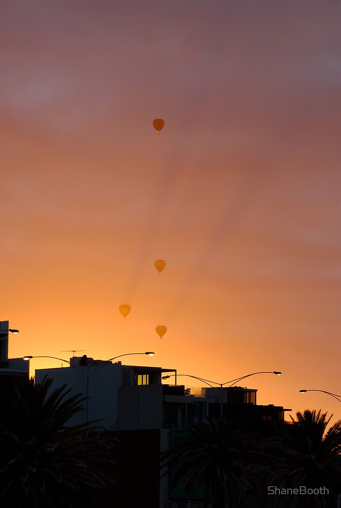 Albert Park Balloons by ShaneBooth
