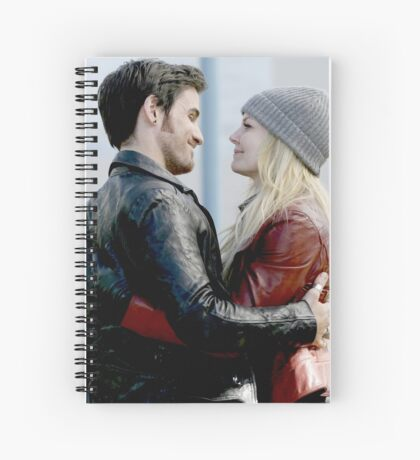 TV Show: Once Upon A Time (Captain Swan) Spiral Notebook
