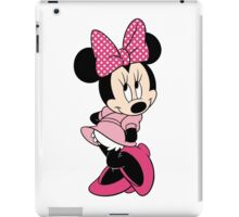 Pink Minnie Mouse iPad Case/Skin