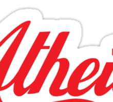 Atheist 'Coke' Design (any background) Sticker