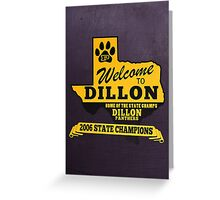 Welcome to Dillon Greeting Card