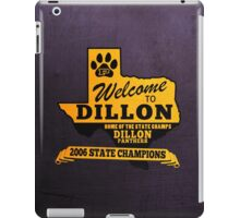 Welcome to Dillon iPad Case/Skin