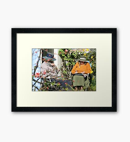 To The Post Office and Back Framed Print