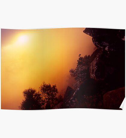 Sunrise in the Grampians Poster