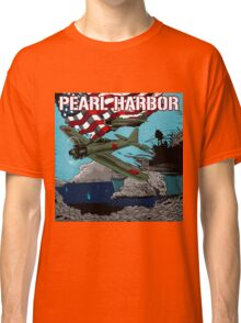 Attack on Pearl Harbor illustration. Classic T-Shirt