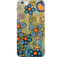 Avalanche florale 2 iPhone Case/Skin