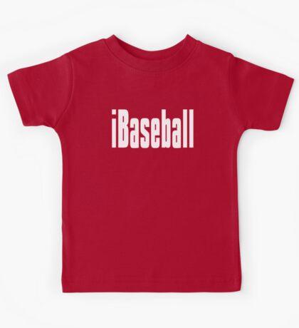 Funny Baseball T Shirt Kids Tee