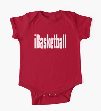 Funny Basketball TShirt One Piece - Short Sleeve