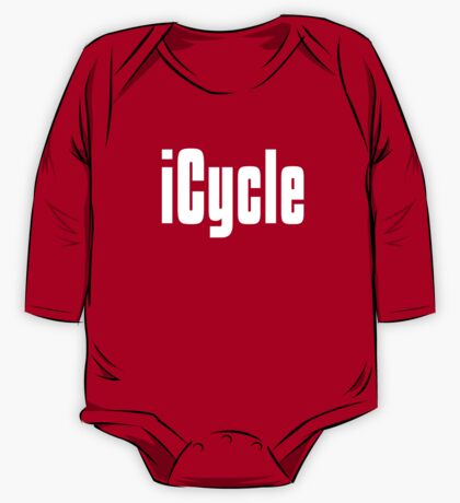 Funny Cycling T Shirt One Piece - Long Sleeve