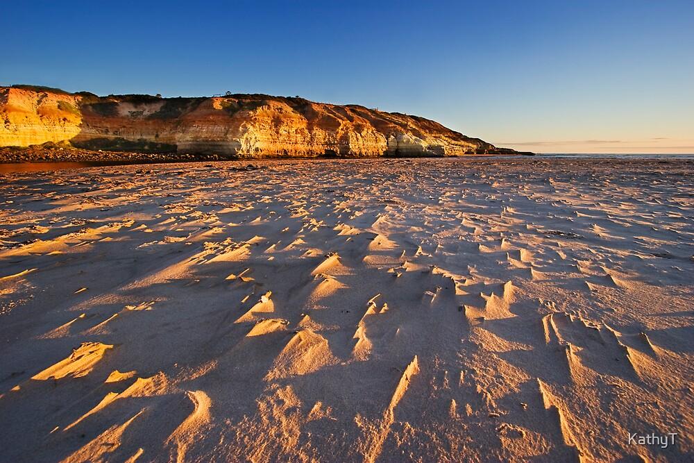 Golden Cliffs by KathyT