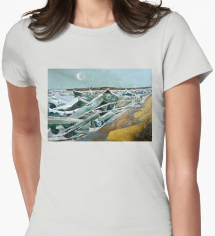Paul Nash - Totes Meer Womens Fitted T-Shirt