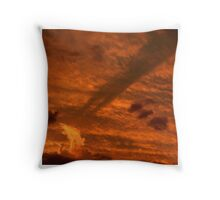An Evening of Clouds: 3 of 5 Throw Pillow