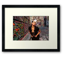 Dine In Or Take Away Framed Print