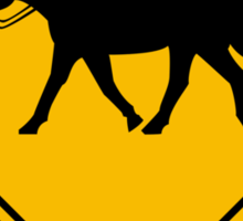 Watch for Horses and Headless Riders Sticker