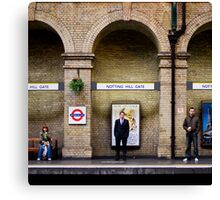 Arched people Canvas Print