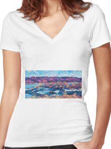 Dighton Women's Fitted V-Neck T-Shirt