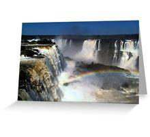 Iguazú Falls Greeting Card