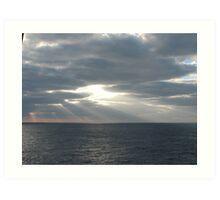 Heaven Above Sea Art Print
