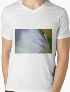 White Lines Mens V-Neck T-Shirt