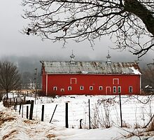 A Vintage Winter's Day by Nadya Johnson