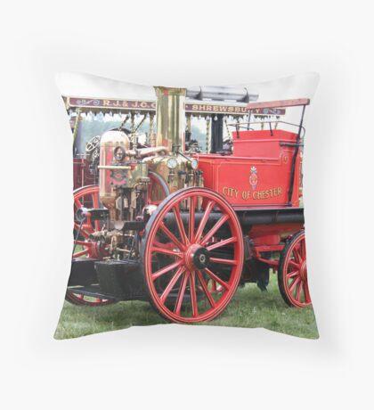Steam, vintage Throw Pillow