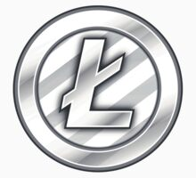 Litecoin Sticker - Bitcoin Crypto Currency Kids Clothes