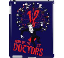 Army of the 12 Doctors iPad Case/Skin