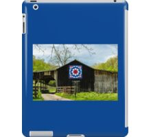 Kentucky Barn Quilt - Carpenters Wheel iPad Case/Skin