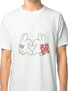 minnie and mickey mouse Classic T-Shirt