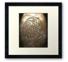 Shield Seal No.1 Framed Print