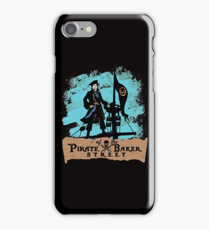 Pirate of the Baker Street iPhone Case/Skin