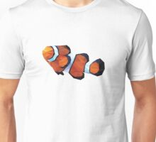 Geometric Abstract Clown Fish Unisex T-Shirt