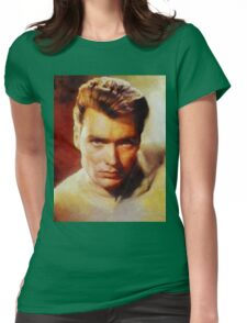 Clint Eastwood, Hollywood Legend Womens Fitted T-Shirt