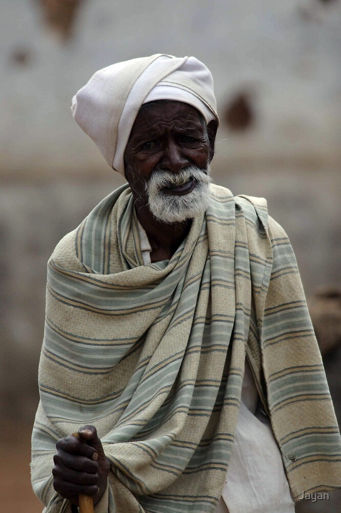 An old man by Jayan