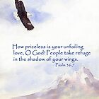 Our Refuge- Psalm 36:7 by Diane Hall