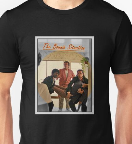Pulp Fiction  'The Bonnie Situation' - John Travolta, Samuel L. Jackson, Quentin Tarantino Unisex T-Shirt