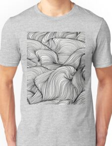 Black and White Pattern Unisex T-Shirt