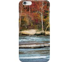 Autumn on the Cumberland River iPhone Case/Skin
