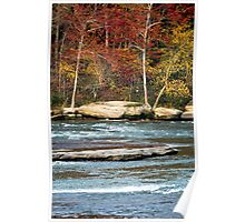 Autumn on the Cumberland River Poster