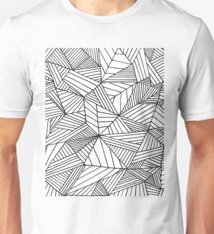 Black and White Pattern II Unisex T-Shirt