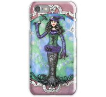 I Put A Spell On You - Goth Witch Art iPhone Case/Skin