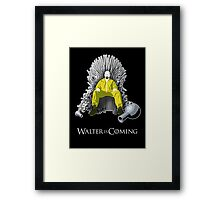Breaking Bad - Walter is Coming Framed Print