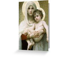Mary  Greeting Card