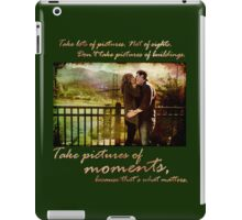 Celebrate a moment iPad Case/Skin