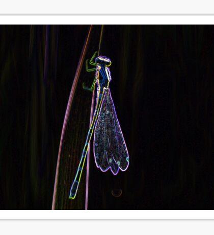 Dragonfly edit  Sticker