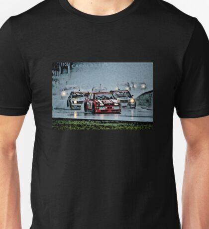 DTM Alfa Romeo 155 Mercedes 190 Fight Unisex T-Shirt