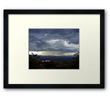 The Approach II Framed Print