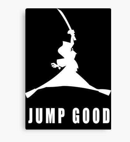JUMP GOOD/AIR JORDAN Canvas Print