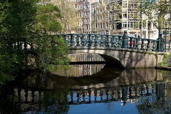 Bridge Reflection by Katherine Maguire