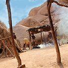Dwellings in Namebia by Gilberte